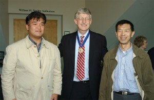 NIH/NHGRI Yasuhiko Kamikubo M.D.,Ph.D. Associate Professor Francis Collins M.D.,Ph.D. NIH Director Paul Liu M.D.,Ph.D. NHGIR Deputy Scientific Director
